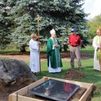 Historic stone church celebrates an important milestone
