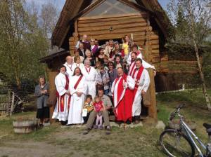 The Reverend Lynn De Brabandere's ordination as a Deacon in St. Christopher's Anglican Church, Haines Junction, Yukon. Photos: Contributed