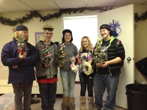 """Youth in the Diocese of Moosonee gather in """"The LivingRoom"""" community centre in Schumacher, Ontario. Photo: Contributed"""