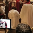 Unique features at deacon's ordination