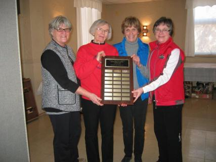 Congratulations to the 2017 Champions: Blanche Robertson, Nativity Hamilton; Ann Hicks, Nativity Hamilton; Marg Hoffman, Our Saviour The Redeemer Stoney Creek; and Marlene Patterson, St. John's Ancaster.