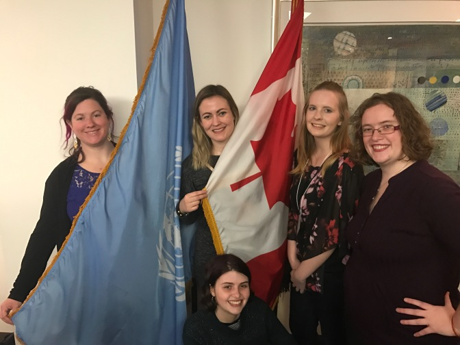 UN 5 Anglican Youth from Canada