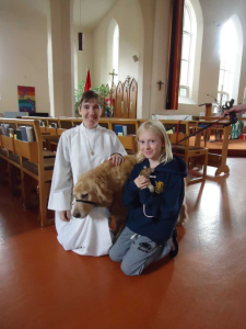 blessing of animal