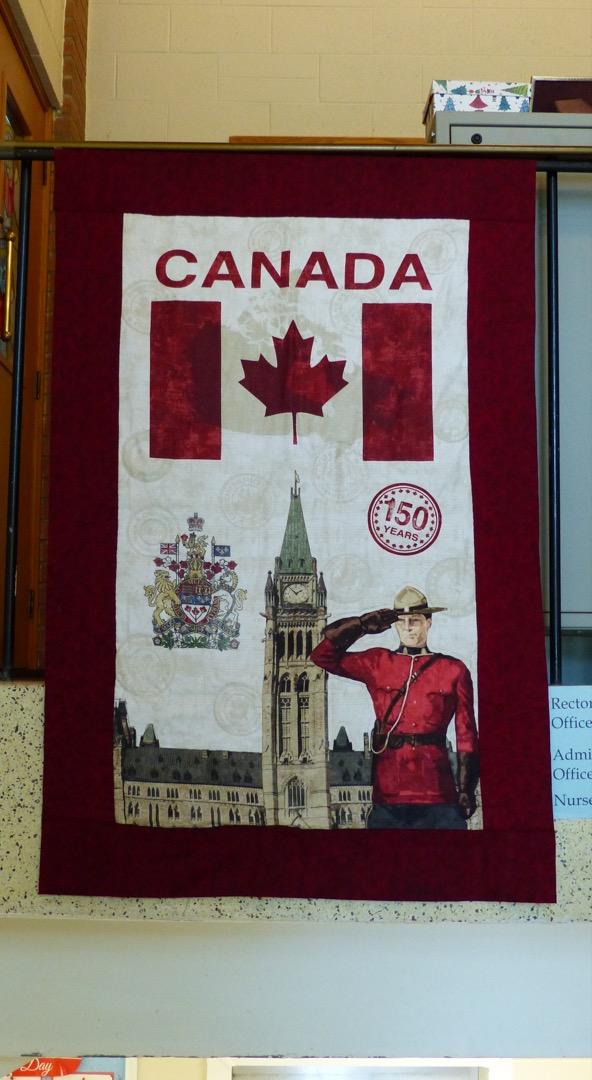 St. Elizabeth's Canada 150 banner
