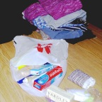 Not a snazzy ministry but dignity kits meet a need