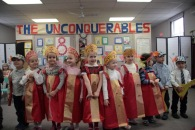 Bp 38 kids at Incarnatio little bishops at incarnation