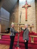 Christmas tree becomes Good Friday cross