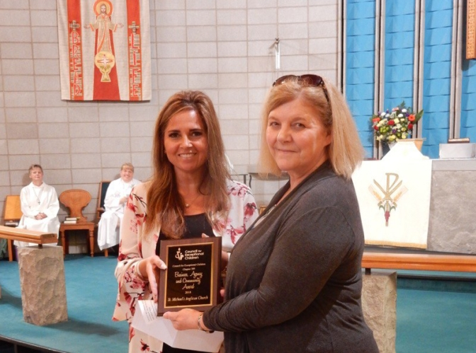 parish award St Michael Jan and Maria