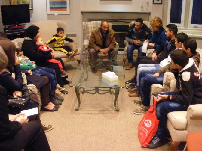 Dundas Refugee Family