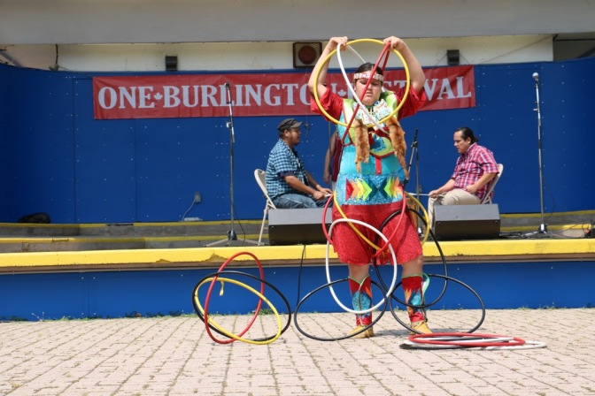 One Burlington hoop danceIMG_1513