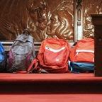 Backpacks and laptops Sunday