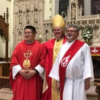 First ordination by first female bishop