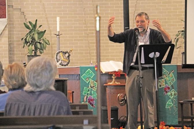 Bible festival guest speaker-adj