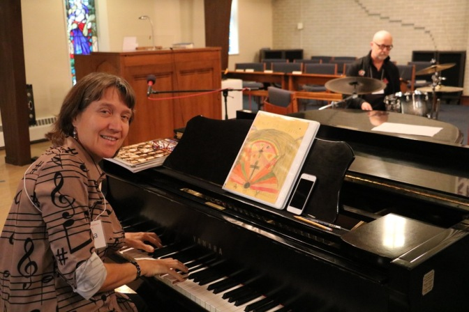 Bible festival pianist