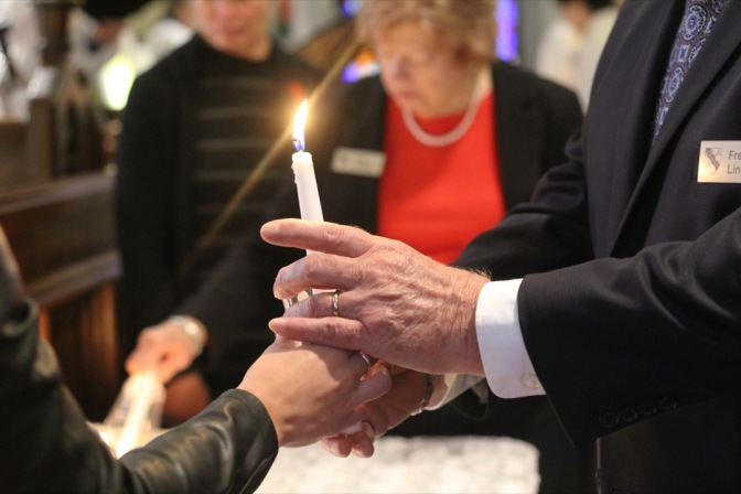 Jan 2019 NA Ancaster All Souls Sunday - Candle Lighting