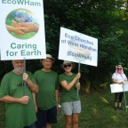 Anglican Churches join others for the environment – EcoWHam and EcoLocke Groups in Hamilton area