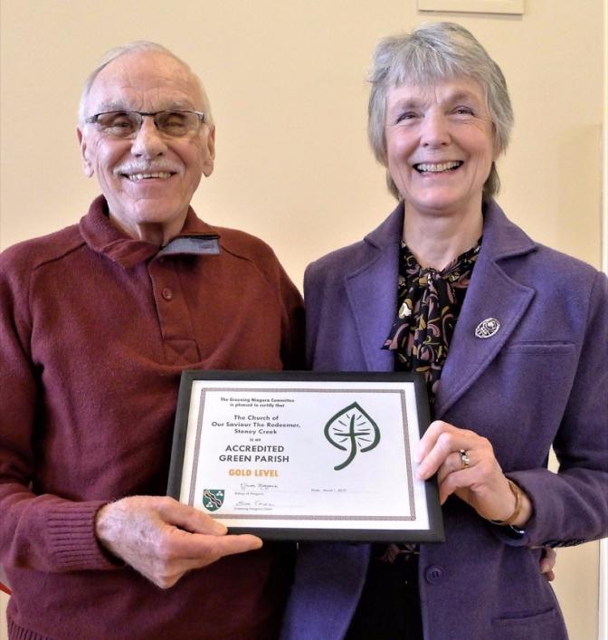 Greening certificate Bev G