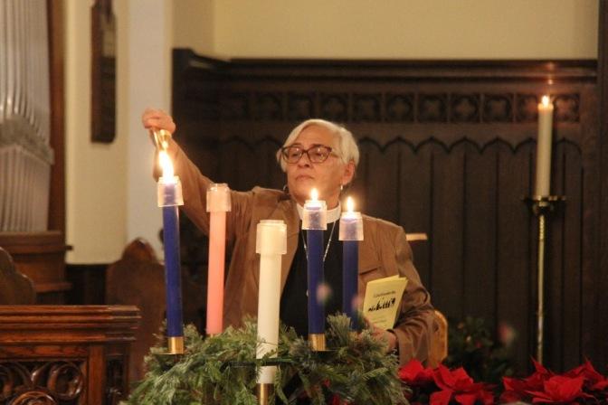 Deacon Jean Ruttan-Yates, Christmas 2017