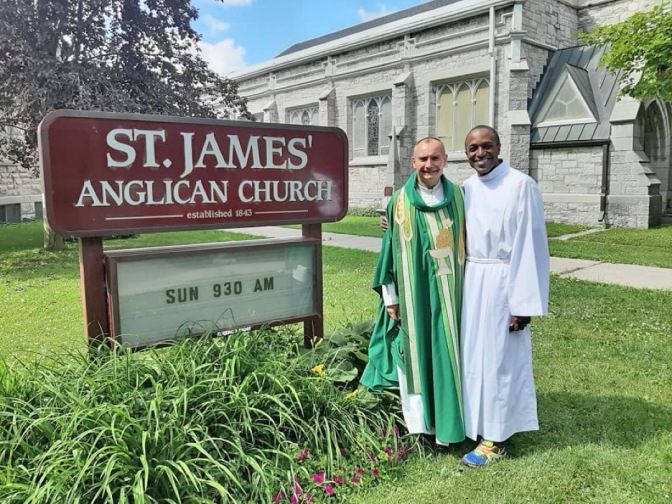 Tom and Maurice at St James-adj