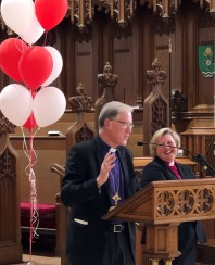 Archbishop Fred Hiltz and Bishop Susan Bell