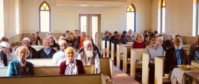 Muslim visitors