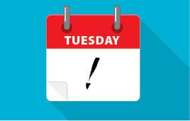 Tuesday-calendar