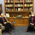 Primate Joins Bishop for Virtual Event